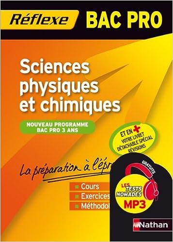Livres Sciences physiques et chimiques - BAC PRO pdf