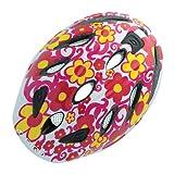 Giro Spree Toddler Bike Helmet, White/Red Flowers