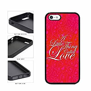 Beautiful Red And Pink Hearts A Little Thing Called Love TPU RUBBER Phone Case Back Cover Apple iPhone 5 5s comes with Security Tag and MyPhone Designs(TM) Cleaning Cloth