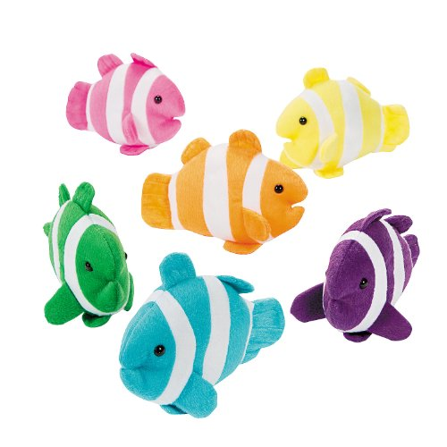 Fun Express Plush Clown Fish (1 dz)