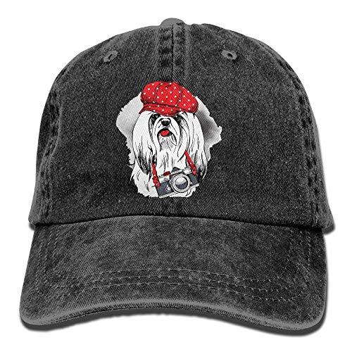 Cowboy for Hats Women Dog Sport Hat Cap Denim Cowgirl JHDHVRFRr Skull Camera Men Hat 0Pvqa