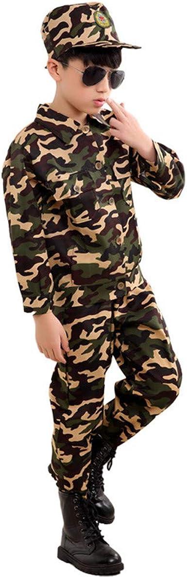 Amazon Com Disfraz De Soldado De Batalla Para Ninos Uniforme Militar Disfraz De Carnaval Para Ninos Camuflaje Disfraz De Halloween Clothing