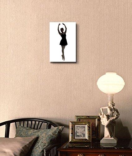 Dancer Girl Silhouette Wall Decor
