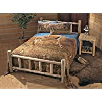 CASTLECREEK Cedar Log Bed King