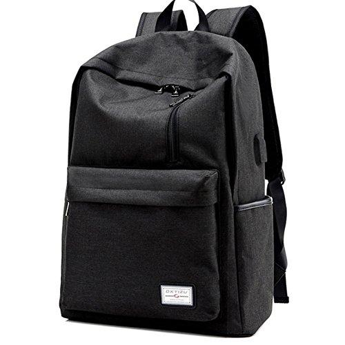 ° Wlgreatsp Bookbag Scuola Interfaccia 1 Borsa Grigio Viaggio Usb Zaino N Di Uomo Solido Ricarica Esterno rq6PwrSEx