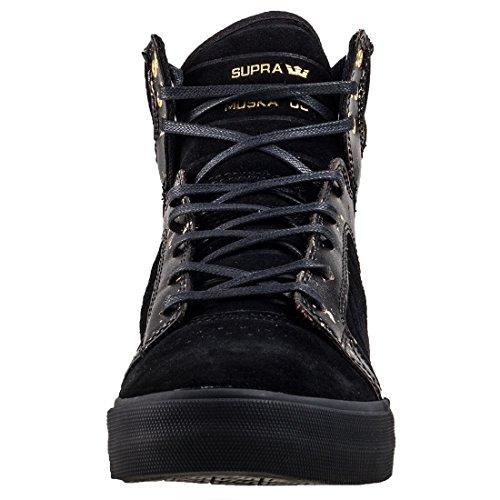 Supra SKYTOP S18185 Herren Sneaker Black Gold