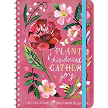 """Katie Daisy 2020 On-the-Go Weekly Planner: 17-Month Calendar with Pocket (Aug 2019 - Dec 2020, 5"""" x 7"""" closed)"""