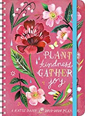 Celebrate your daily adventures with the whimsical and uplifting artwork of Katie Daisy as your companion. Each month of this special-edition planner begins with a captivating two-page color spread of illustrations in Katie's signature waterc...