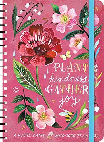 Katie Daisy 2019 - 2020 On-the-Go Weekly Planner: 17-Month Calendar with Pocket (Aug 2019 - Dec 2020, 5' x 7' closed)
