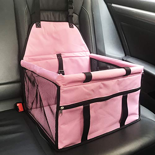 Heepark Dog Car Seats, Booster Seats & Deluxe Portable Pet Car Seat Carriers - Dogs up to 17 lbs: Amazon.co.uk: Pet Supplies