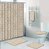 Best Bronze Times Bath Towels - AmaPark 5 Piece Bath Accessory Set Bathroom Rugs Review