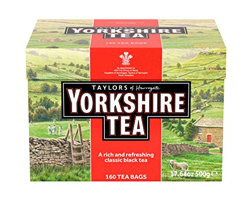 (Taylors of Harrogate Yorkshire Red, 160 Teabags)