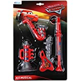 Kit Musical 4 Pcs Cars Disney Kit Musical 4 Pcs Cars Estampa Cars