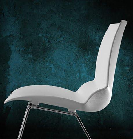 CAIMI Stuhl in Technopolymer – Kaleidos Brevetti – Weiß