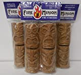 Fire Minion 100% Natural Wood Sawdust Firestarters Pack of 3