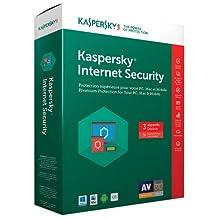 Kaspersky Internet Security 2017 (PC/Mac) - 3 Users - 18 Months
