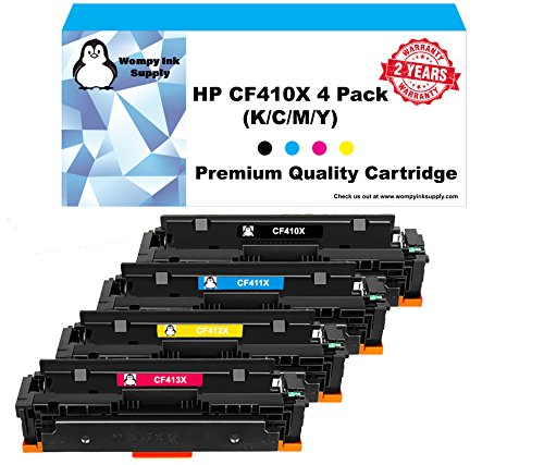 2,300 Pages Inksters Compatible Toner Cartridge Replacement for HP CF413A 410A Magenta