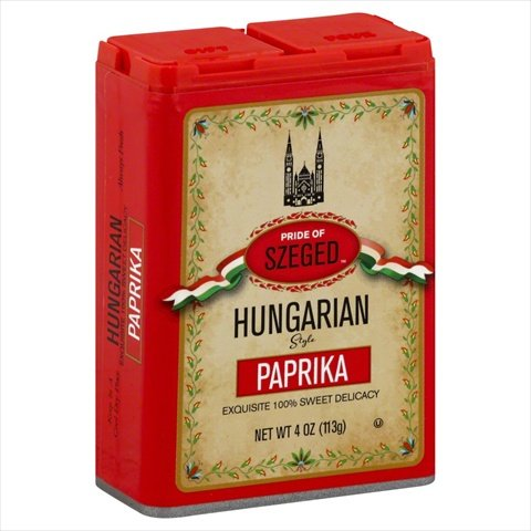 Szeged Seasoning Sweet Paprika-4 Ounce Containers, Case of 6 by Szeged