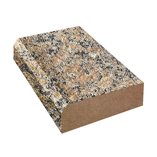 Bevel Edge Laminate Countertop Trim: Brazilian Brown Granite