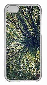 iPhone 5C Case, Personalized Custom Tree 18 for iPhone 5C PC Clear Case