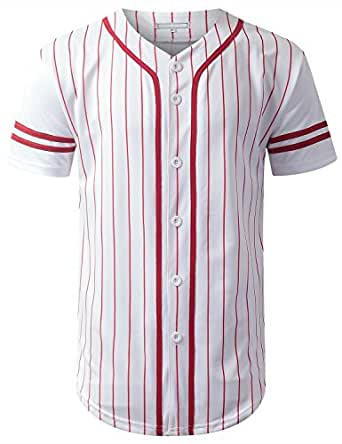 For the past twenty years, baseball teams have been dropping pullover jerseys in favor of more professional looking button front jerseys. Button front jerseys are available in two different styles - short sleeve and sleeveless.