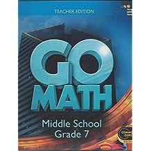 Go Math: Teacher Edition Grade 7 2014