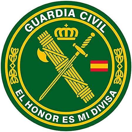 Artimagen Aufkleber Kreis Guardia Civil Das Honor Ist Meine Trennscheibe ø 50 Mm Ud Auto