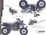 1991 Yamaha Warrior YFM350X 350 Blaster YFS200 200 ATV Brochure