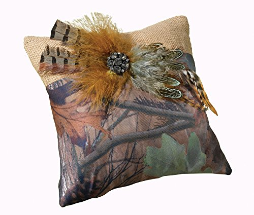 Lillian Rose Rustic Camouflage Wedding Ring Pillow by Lillian Rose