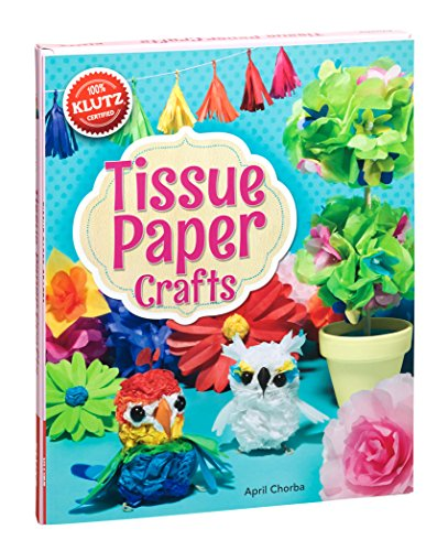 Klutz Tissue Paper Crafts: Colorful Decorations Craft Kit