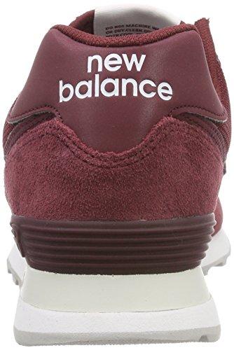 Balance Homme Etd burgundy Rougeburgundy New 574v2Baskets Y9EHIWDe2