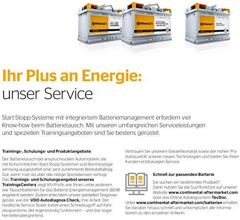 Autobatterie Continental EFB-12V 80Ah 730A Start/&Stop