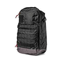 Gear up, suit up, and keep up with challenges along your way. Embrace the outdoors and take on the thrills of every adventure with the Rapid Origin Pack from 5.11! Constructed with preparedness in mind using high-grade 1050D Nylon material im...