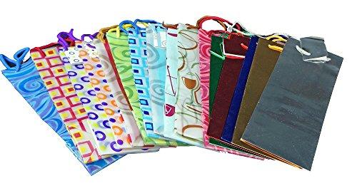 Wine Bag Assortment - Bundle of 12 by Pacific Merchants