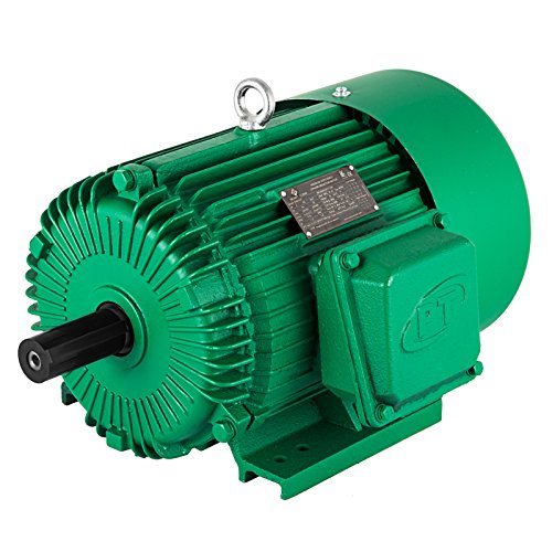 - VEVOR 230/460 V Electric Motor 184T Frame 3 Phase Electric Motor 5 HP Electric Motor 1800 RPM 9/8 Inch Keyed Shaft for The Matching of Water Pumps