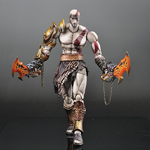 God of War Kratos PVC Action Figure SQUARE ENIX Play Arts KAI Collectible Model Toy 22cm KT1785