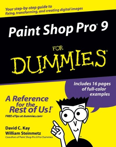 Best! Paint Shop Pro 9 For Dummies K.I.N.D.L.E