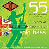 Rotosound RS555LD Linea Pressure Wound 5 String Bass Guitar Strings (45 65 85 105 130)