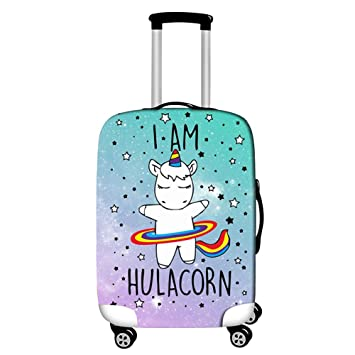 deed4983aff7 Amazon.com | Luggage Cover - Washable Cute 3D Travel Baggage ...