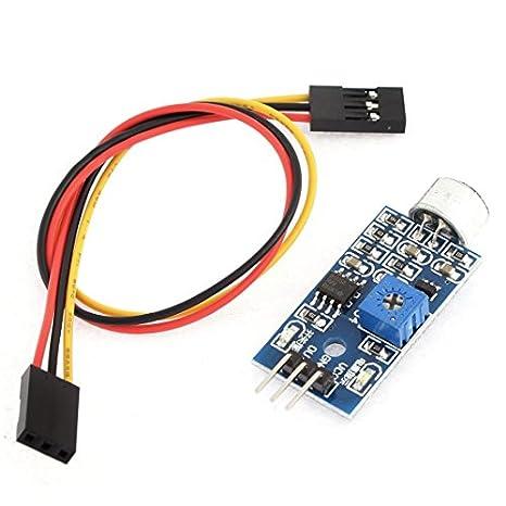 Amazon.com: Módulo Sensor de 5V 3 Pines de un Solo Canal de sonido del vehículo inteligente de MCU: Industrial & Scientific