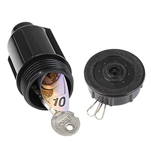 (WYZwoks Hide A Key Spare Cash Sprinkler Head Safe Holder Outdoor Compartment)