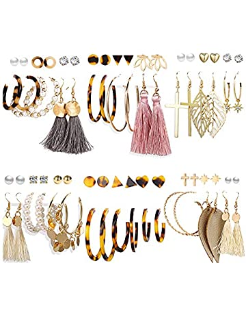 FidgetFidget VF V46 Clear Crystal Blue CZ WGP Alloy Earrings Bracelet Necklace Set Ring 9#