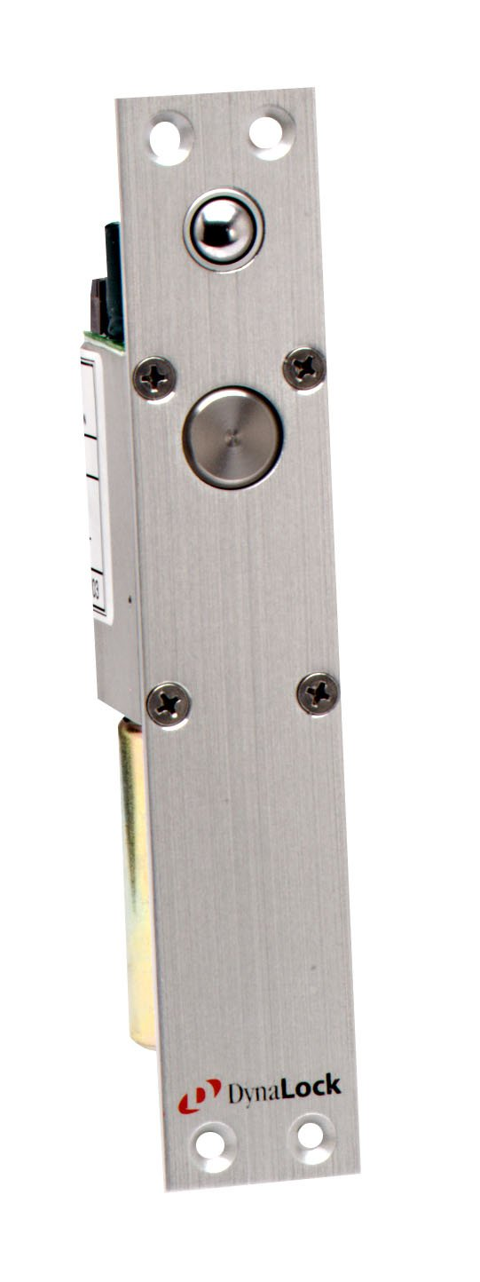 DynaLock 1300-12/24 Mortise Electric Deadbolt, Dual Voltage