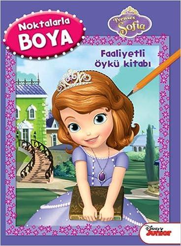 Prenses Sofia Noktalarla Boyama Faakit Amazoncouk Kolektif