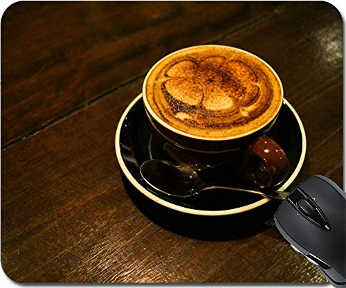 MSD Natural Rubber Mousepad Mouse Pads/Mat design: 32014931 Mocca coffee on the table (Mocca Cup)