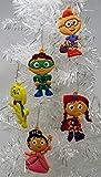 Ornament Super WHY Holiday Christmas Set - Unique Shatterproof Plastic Design