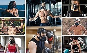 QISE Training Mask 4.0 Breathing Oxygen Mask 48 Breathing Resistance Levels