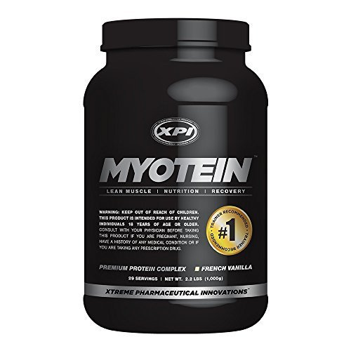 Myotein (Vanilla) - Myotein - Best Whey Protein Powder - Best Tasting Protein Powder for Fat Loss and Muscle Growth by XPI Supplements