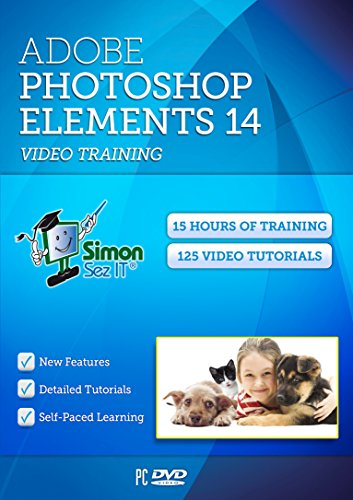 Learn Adobe Photoshop Elements 14 Video Training Tutorials - 15 Hours of Training by Simon Sez IT