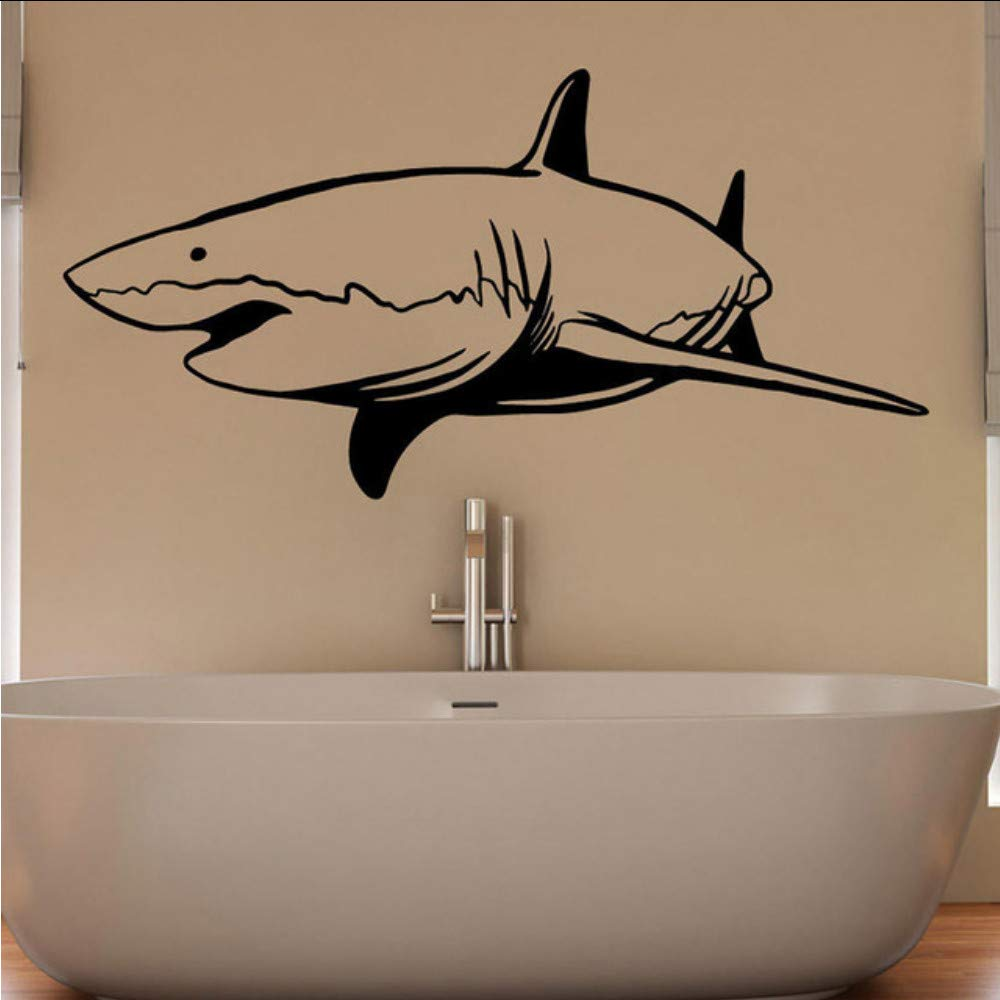 jukunlun Natación Tiburón Animal Vinilo Tatuajes De Pared ...